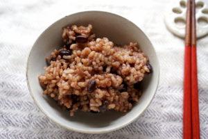 圧力鍋で作るモッチモチ【酵素玄米】の作り方